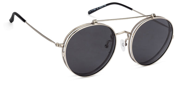 John Jacobs Silver Sunglasses 132051