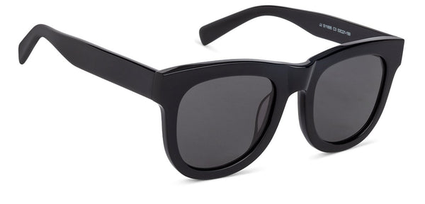John Jacobs Black Sunglasses 132055