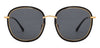John Jacobs Power Golden Sunglasses 132056