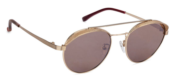 JJ Gold Round Sunglasses - 132063