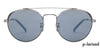 Gunmetal Black Grey Mirror Full Rim Round John Jacobs JJ Tints JJ S11900-C2 Polarized