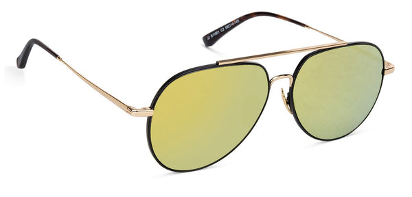 John Jacobs Golden Sunglasses 132067