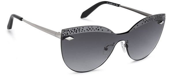 John Jacobs Black Sunglasses 132545