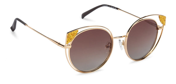 JJ Gold Cat Eye Sunglasses - 132548