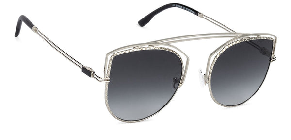 John Jacobs Silver Sunglasses 132552
