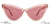 JJ Pink Cat Eye Sunglasses - 134397