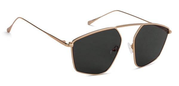 John Jacobs Golden Sunglasses 135574