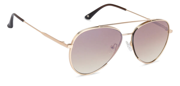 John Jacobs Golden Sunglasses 136375