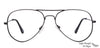 Vincent Chase Black Eyeglasses 128804