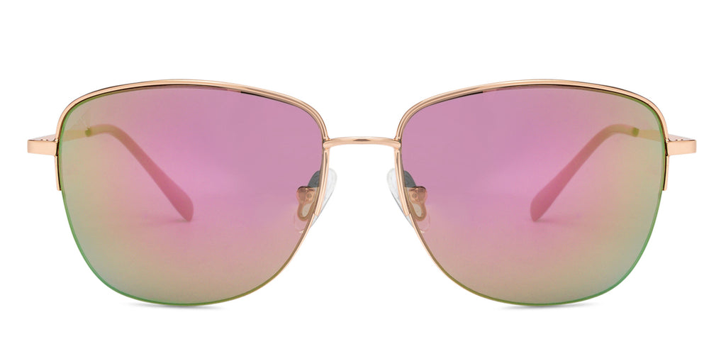 Sunglasses For Men-Square-Golden-SG