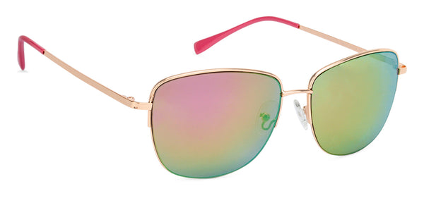 Vincent Chase Golden Sunglasses 135551