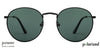 Vincent Chase Polarized Power Black Sunglasses 130787