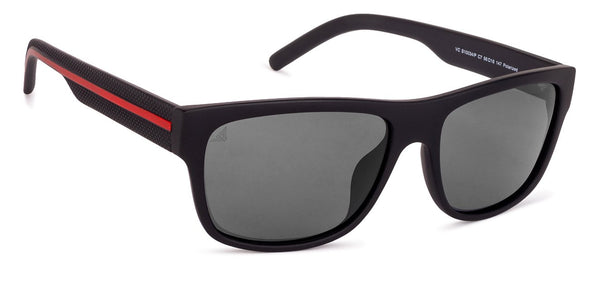 Vincent Chase Polarized Black Sunglasses 131003