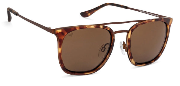 Vincent Chase Polarized Power Tortoise Sunglasses 130800