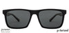 Vincent Chase Polarized Black Sunglasses 130816