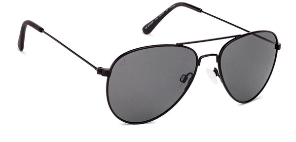 Vincent Chase Polarized Black Sunglasses 130826