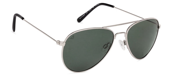Vincent Chase Polarized Silver Sunglasses 130827