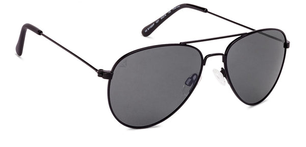 Black Grey Full Rim Aviator Vincent Chase Online TOP VC S11320/P-C21 Polarized