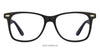 Black Blue Full Rim Wayfarer Shape Vincent Chase Online ACTIVE ACETATE VC 6931-M-C29