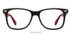 Vincent Chase Black Eyeglasses 122035