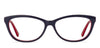Vincent Chase Red Eyeglasses 121797