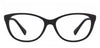 VC Black Cat Eye Eyeglasses - 116393