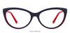 Vincent Chase Red Eyeglasses 121715