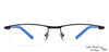 Vincent Chase Black Eyeglasses 116790