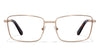 Gold Tortoise Full Rim Rectangle Vincent Chase Online SLEEK STEEL VC E10285-C3