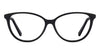 VC Black Cat Eye Eyeglasses - 118209