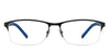 Vincent Chase Black Eyeglasses 119599