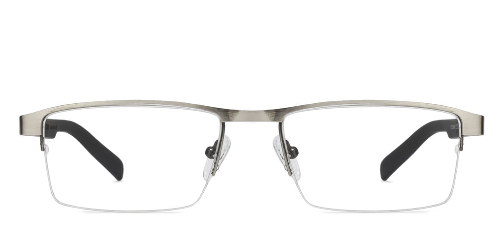 Eyeglasses For Men-Rectangle-Grey-EG