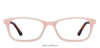 Coral Pink Brown Full Rim Rectangle  Vincent Chase Online ACTIVE ACETATE VC E10600-M-C4