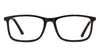 VC Tortoise Rectangle Eyeglasses - 122181