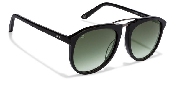 John Jacobs Black Sunglasses 121634