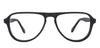 VC Black Aviator Eyeglasses - 131812