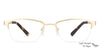 Vincent Chase Golden Eyeglasses 124409