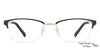 Vincent Chase Black Eyeglasses 124411