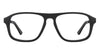 VC Black Rectangle Eyeglasses - 124887
