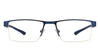 VC Blue Rectangle Eyeglasses - 126404