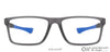 Lenskart Air Grey Transparent Rectangle Eyeglasses - 126434