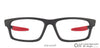 Matte Black Red Full Rim Rectangle Lenskart Air LA Sports VC E11000-S C1