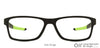 Lenskart Air Matte Black Rectangle Eyeglasses - 126461