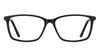 VC Black Rectangle Eyeglasses - 127525