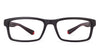 Vincent Chase Black Eyeglasses 130606