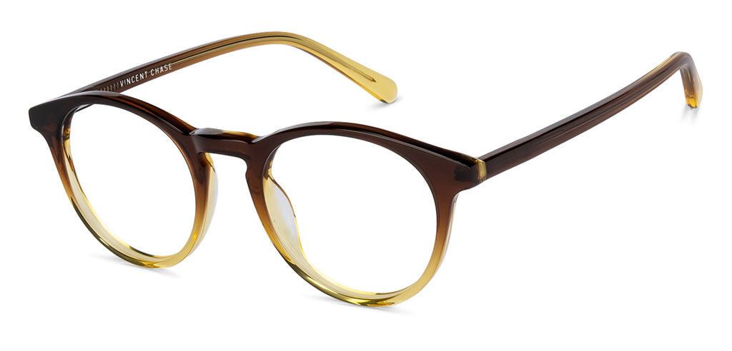 Eyeglasses For Women-Round-Brown-EG