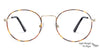 Vincent Chase Golden Eyeglasses 134925
