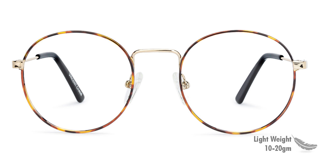 Eyeglasses For Men-Rectangle-Golden-EG