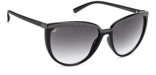 VC Gunmetal Black Cat Eye Sunglasses - 128425
