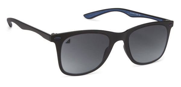 VC Matte Black Rectangle Sunglasses - 128437